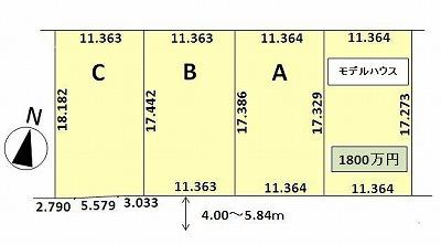 石山1-7区画図